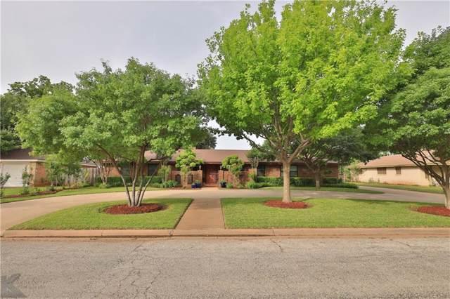 2326 Brookhollow Drive, Abilene, TX 79605 (MLS #14151548) :: Potts Realty Group
