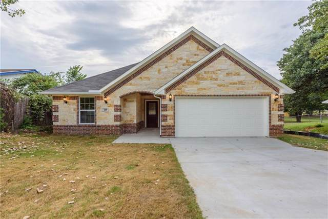 160 Mountain View Drive, Azle, TX 76020 (MLS #14151562) :: RE/MAX Town & Country