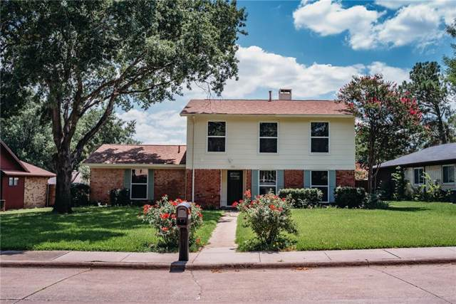 1810 Tucson Drive, Lewisville, TX 75077 (MLS #14152246) :: The Hornburg Real Estate Group