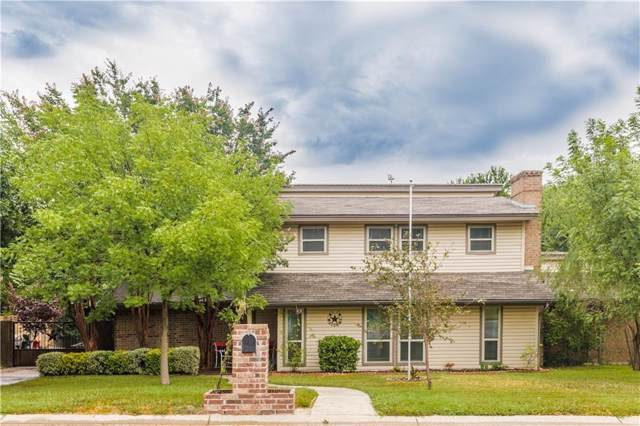 8636 Canyon Crest Road, Fort Worth, TX 76179 (MLS #14152290) :: Real Estate By Design