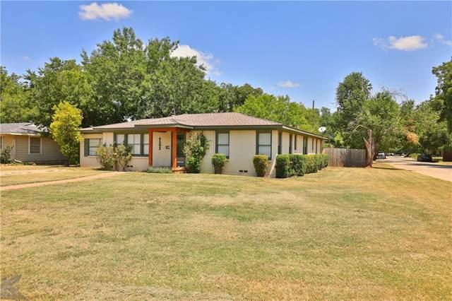 4102 Benbrook Street, Abilene, TX 79605 (MLS #14152473) :: The Mitchell Group