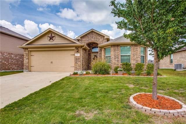 214 Meadowlands Drive, Ponder, TX 76259 (MLS #14152864) :: Team Tiller