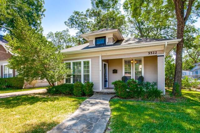 5522 Worth Street, Dallas, TX 75214 (MLS #14153033) :: Robbins Real Estate Group