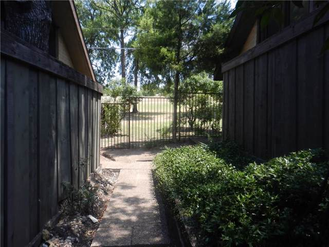 4611 Country Creek Drive #1024, Dallas, TX 75236 (MLS #14153123) :: The Hornburg Real Estate Group