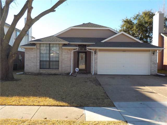 4347 Metronome Drive, Grand Prairie, TX 75052 (MLS #14153314) :: The Tierny Jordan Network