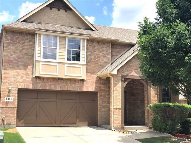 6404 Hickory Hill Drive, Plano, TX 75074 (MLS #14153709) :: Tenesha Lusk Realty Group