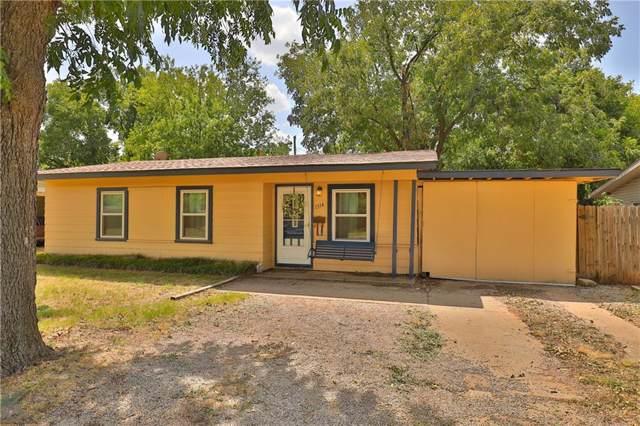 1314 Buccaneer Drive, Abilene, TX 79605 (MLS #14153716) :: The Mitchell Group
