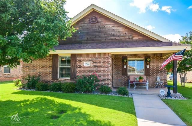 3542 Firedog Road, Abilene, TX 79606 (MLS #14153797) :: Century 21 Judge Fite Company