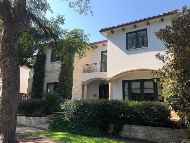3400 Harvard, Dallas, TX 75205 (MLS #14153922) :: Robbins Real Estate Group