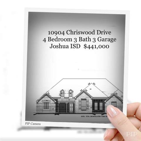 10904 Chriswood Drive, Crowley, TX 76036 (MLS #14154289) :: Real Estate By Design