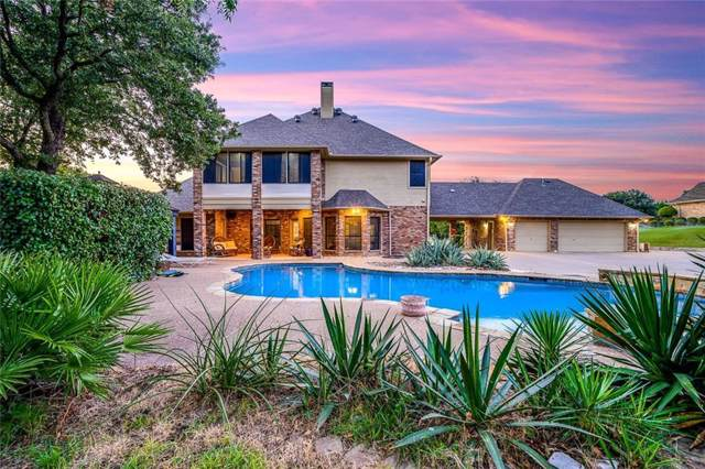 2816 Bent Oaks Drive, Burleson, TX 76028 (MLS #14154429) :: The Hornburg Real Estate Group