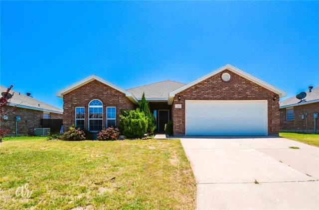 249 Cotton Candy Road, Abilene, TX 79602 (MLS #14154540) :: The Chad Smith Team