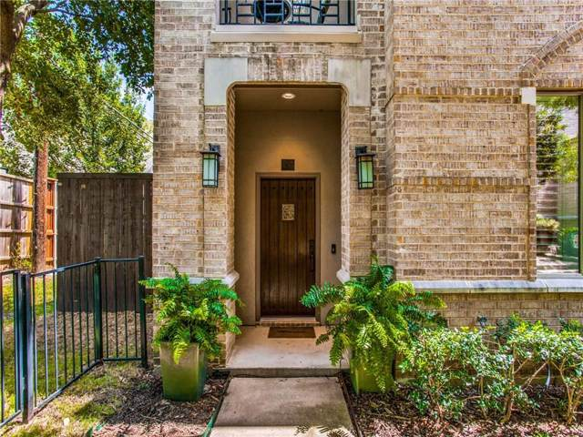 6269 Oram Street #23, Dallas, TX 75214 (MLS #14154741) :: Results Property Group