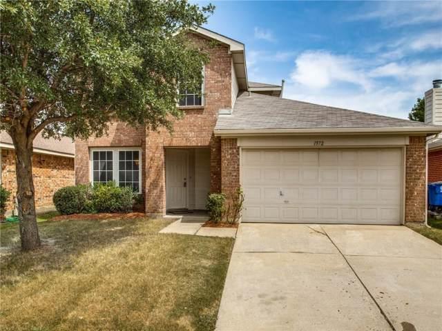 1572 Brookstone Drive, Little Elm, TX 75068 (MLS #14154895) :: Kimberly Davis & Associates