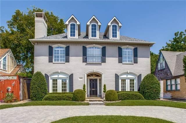 2928 Dyer Street, University Park, TX 75205 (MLS #14155138) :: Roberts Real Estate Group