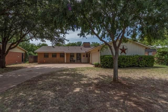 1582 Beechwood Lane, Abilene, TX 79603 (MLS #14155212) :: Hargrove Realty Group