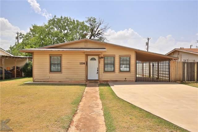 1226 S Crockett, Abilene, TX 79605 (MLS #14155221) :: Tenesha Lusk Realty Group