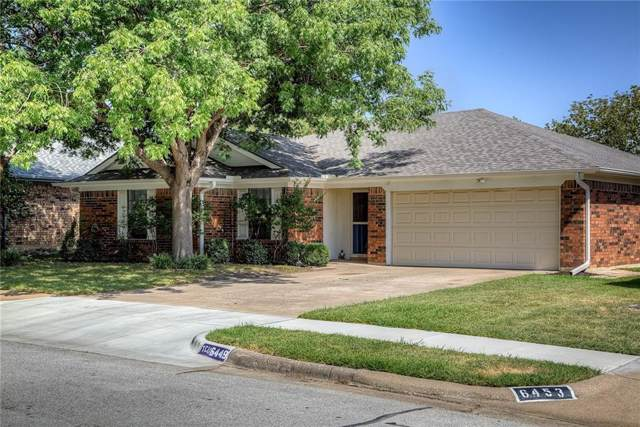 6449 Loma Vista Drive, Watauga, TX 76148 (MLS #14155877) :: Vibrant Real Estate