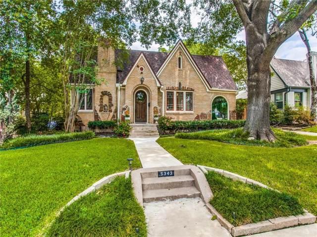 5343 Merrimac Avenue, Dallas, TX 75206 (MLS #14156105) :: Robbins Real Estate Group