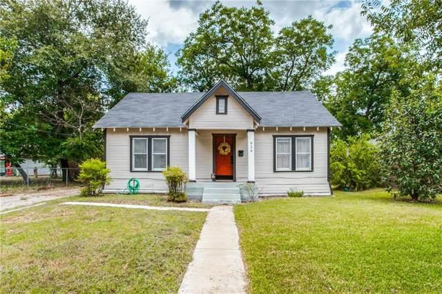 916 N Catherine Street, Terrell, TX 75160 (MLS #14156171) :: The Heyl Group at Keller Williams