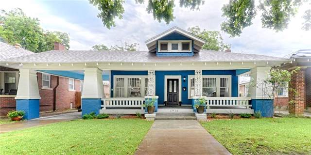 1916 5th Avenue, Fort Worth, TX 76110 (MLS #14156352) :: The Mitchell Group