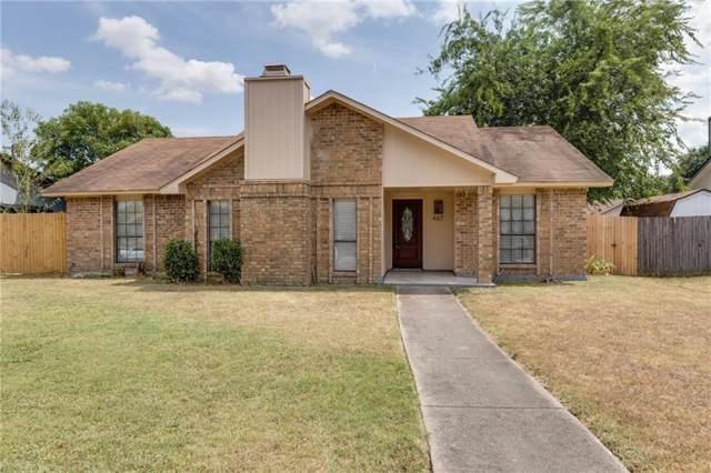 467 Mckinley Street, Cedar Hill, TX 75104 (MLS #14156373) :: RE/MAX Town & Country