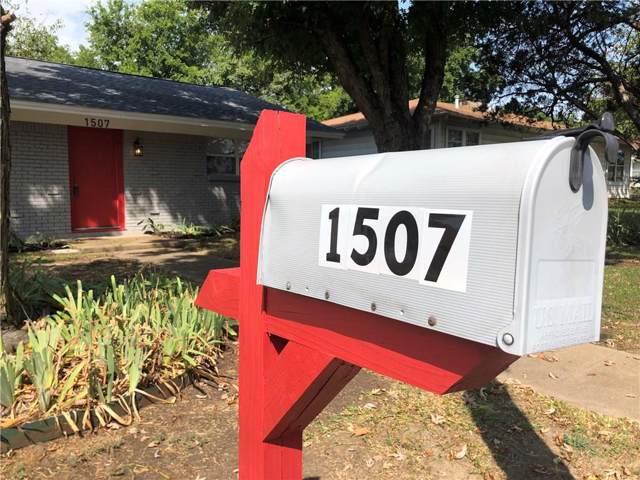 1507 Granbury Street, Cleburne, TX 76033 (MLS #14156489) :: The Rhodes Team