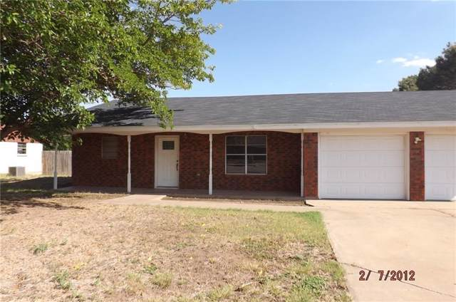 1033 4th Street NW, Hamlin, TX 79520 (MLS #14156812) :: Frankie Arthur Real Estate
