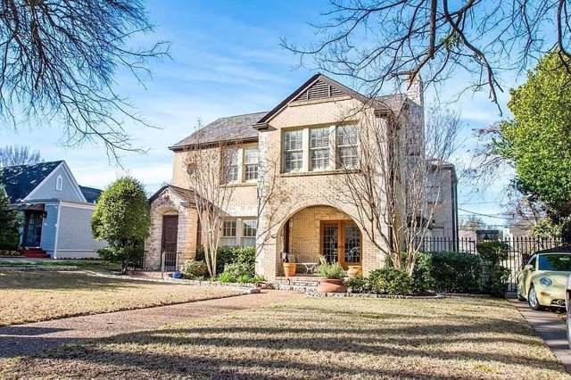 3812 W 4th Street, Fort Worth, TX 76107 (MLS #14156957) :: The Mitchell Group