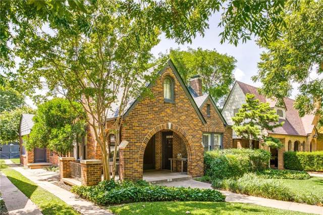 1119 N Windomere Avenue, Dallas, TX 75208 (MLS #14157016) :: Ann Carr Real Estate