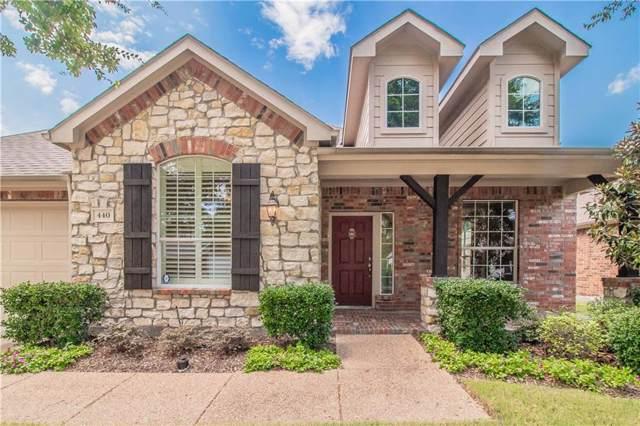 440 Long Cove Drive, Fairview, TX 75069 (MLS #14157284) :: Team Tiller