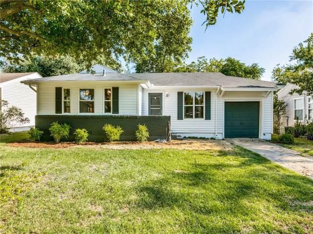 2158 Montalba Avenue, Dallas, TX 75228 (MLS #14157338) :: Robbins Real Estate Group