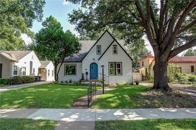 4004 El Campo Avenue, Fort Worth, TX 76107 (MLS #14157428) :: The Mitchell Group
