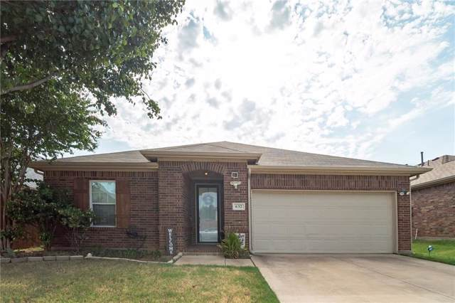 632 Montgomery Drive, Lake Dallas, TX 75065 (MLS #14157504) :: All Cities Realty