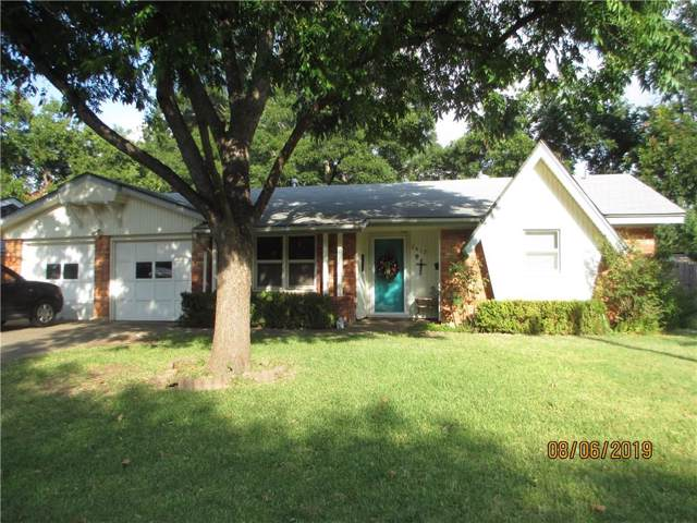 2417 Regent Drive, Abilene, TX 79605 (MLS #14157859) :: Potts Realty Group