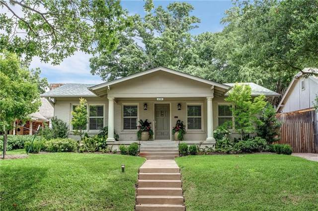 4720 Washburn Avenue, Fort Worth, TX 76107 (MLS #14157860) :: Robbins Real Estate Group