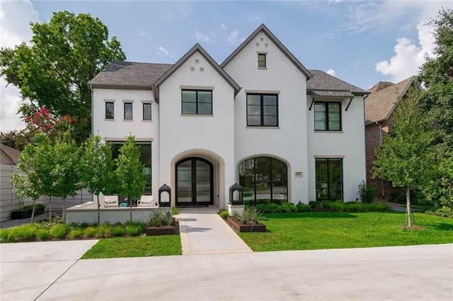 4029 Marquette Street, University Park, TX 75225 (MLS #14157954) :: Century 21 Judge Fite Company