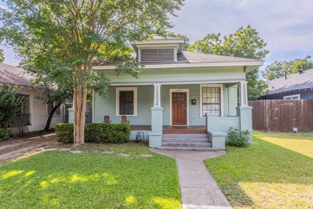 413 S Brighton Avenue, Dallas, TX 75208 (MLS #14158216) :: Kimberly Davis & Associates