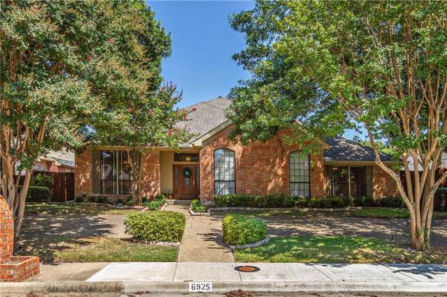 6925 Rocky Top Circle, Dallas, TX 75252 (MLS #14158251) :: The Mitchell Group