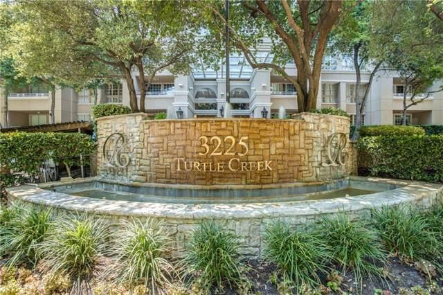 3225 Turtle Creek Boulevard #638, Dallas, TX 75219 (MLS #14158429) :: Lynn Wilson with Keller Williams DFW/Southlake