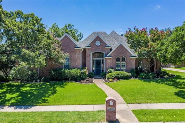 1608 Village Trail, Keller, TX 76248 (MLS #14158449) :: The Real Estate Station