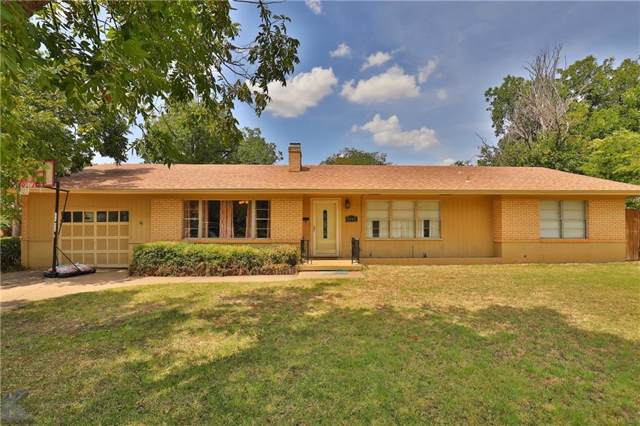2242 S 8th Street, Abilene, TX 79605 (MLS #14158456) :: The Mitchell Group