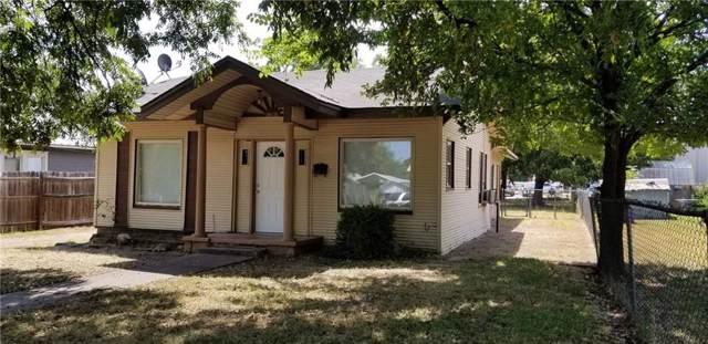 1608 Avenue E, Brownwood, TX 76801 (MLS #14158497) :: The Heyl Group at Keller Williams