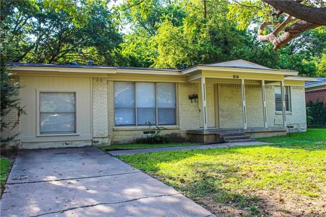 814 N Carrier Parkway, Grand Prairie, TX 75050 (MLS #14158661) :: Kimberly Davis & Associates