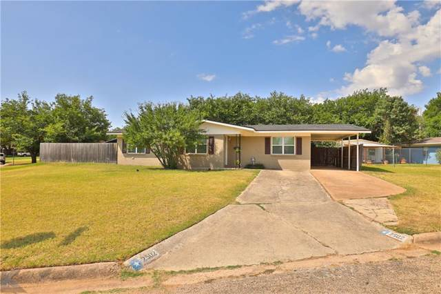 2502 Rountree Drive, Abilene, TX 79601 (MLS #14158810) :: The Tierny Jordan Network