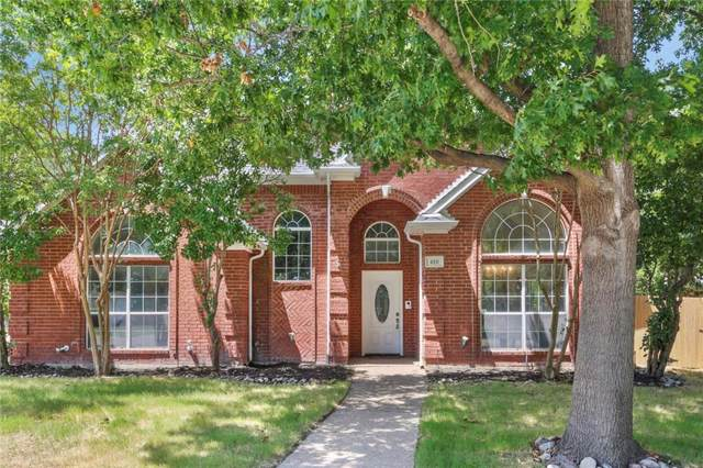 450 Sandy Knoll Drive, Coppell, TX 75019 (MLS #14158827) :: The Real Estate Station