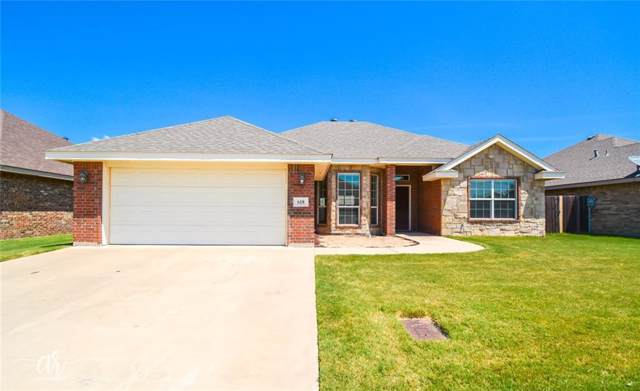 618 Swift Water Drive, Abilene, TX 79602 (MLS #14158880) :: The Chad Smith Team