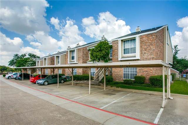 3550 Country Square Drive #111, Carrollton, TX 75006 (MLS #14159059) :: Tenesha Lusk Realty Group