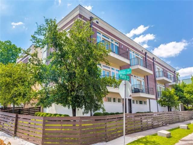 5711 Ross Avenue #1, Dallas, TX 75206 (MLS #14159171) :: Kimberly Davis & Associates