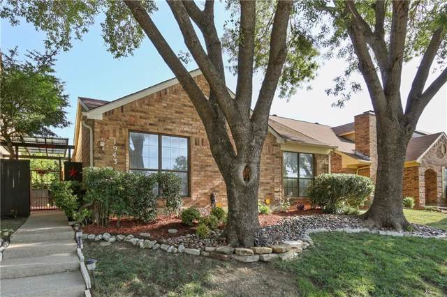 1943 Cheyenne Drive, Carrollton, TX 75010 (MLS #14159175) :: Kimberly Davis & Associates